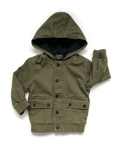 Little Bipsy Military Hooded Jacket