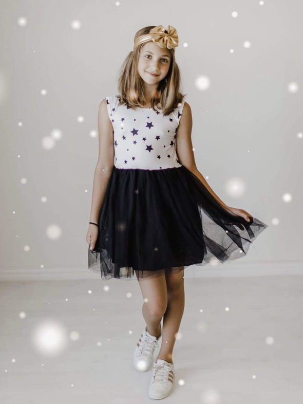 Mila & Rose Shining Star Tank Tutu Dress