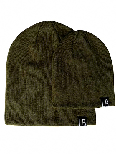 Little Bipsy Knit Beanie - Forest Green