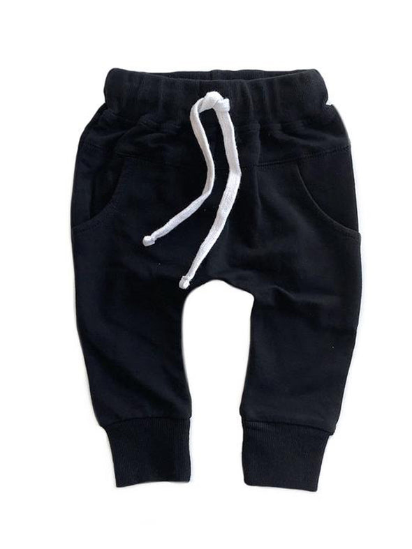 Little Bipsy Joggers - Black