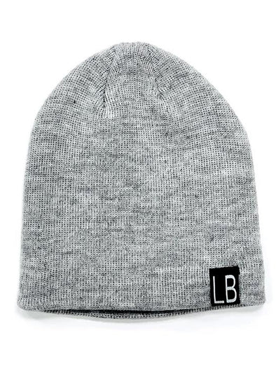 Little Bipsy Knit Beanie - Grey