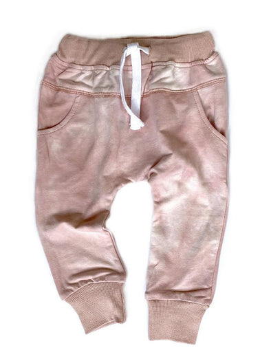 Little Bipsy Joggers - Blush Tie Dye