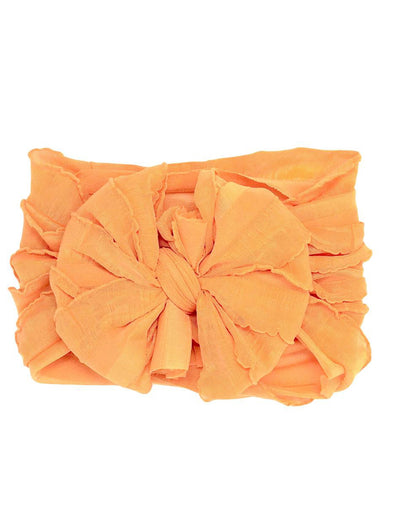 Ruffled Headband - Dreamsicle