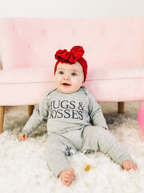 Hugs & Kisses Romper
