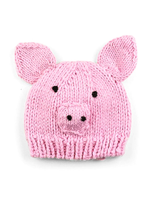The Blueberry Hill Sammie Pig Knit Hat
