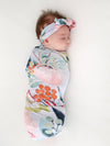 Posh Peanut Forest Queen Swaddle Set
