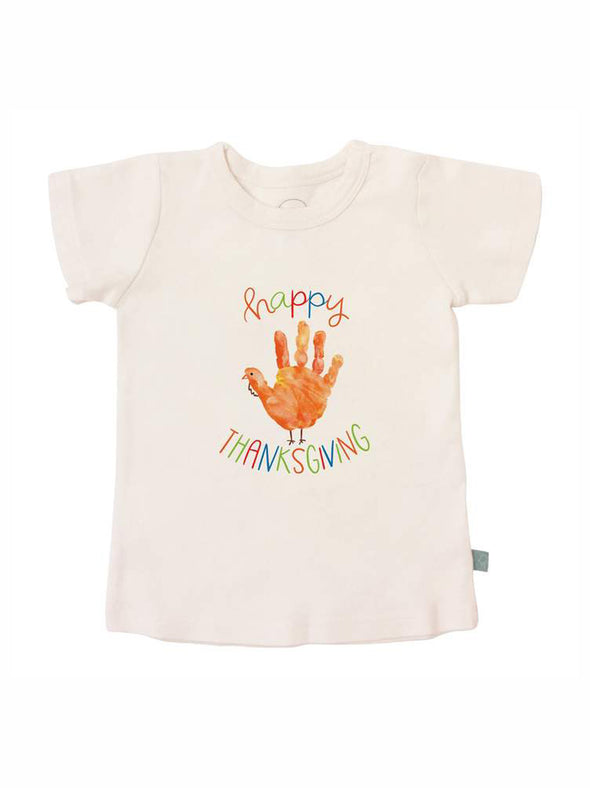 Finn + Emma Thanksgiving Hand Graphic Tee