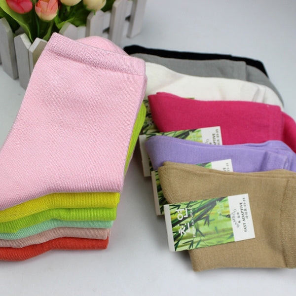 Women's Bamboo Fiber High Quality Socks