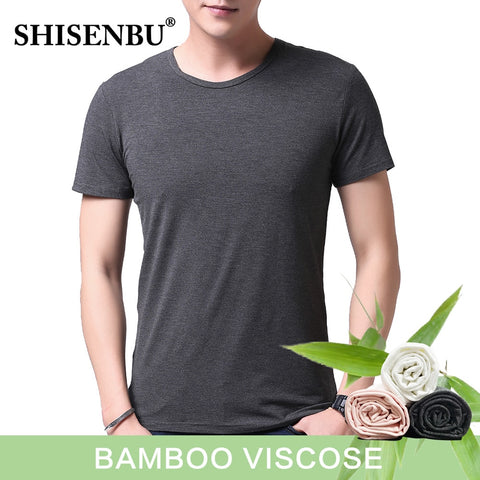 Men's Bamboo Fiber Sweat-Absorbent T-Shirts
