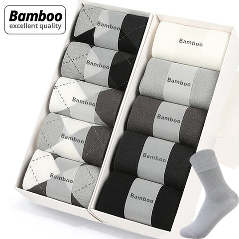 Brand New Bamboo Fiber Men's Socks
