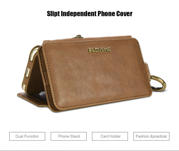 Classical iPhone Wallet Phone Case