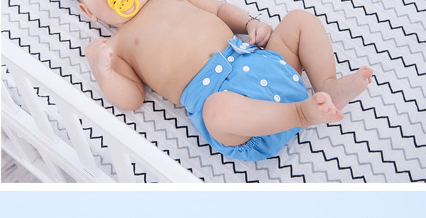 Adjustable Reusable Baby Bamboo Fiber Diapers