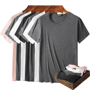 Men's Bamboo Fiber Short Sleeve T-Shirt