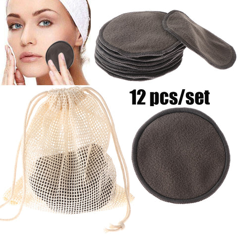 Makeup Removal Reusable Bamboo Fiber Pads