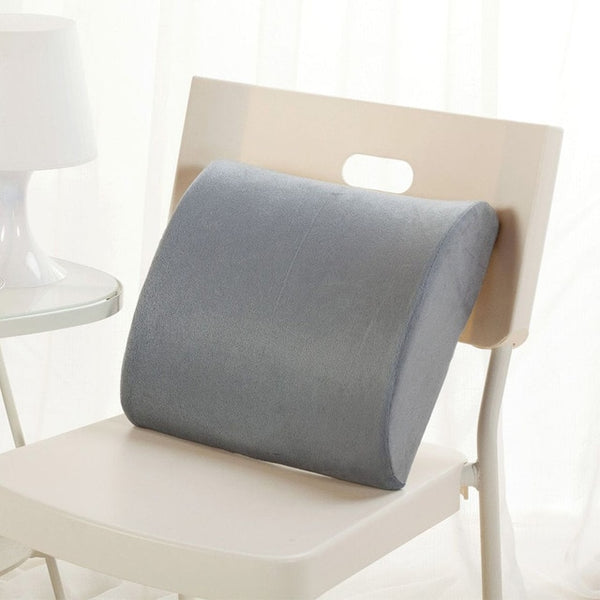2 in 1 Bamboo Fiber Memory Foam Back Support Cushion