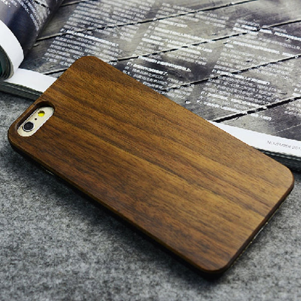 Original Natural Bamboo Phonecase Cover For iPhones and Samsungs