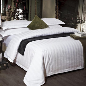 Flat Fitted Eco-Friendly Bamboo Fiber Bed Set