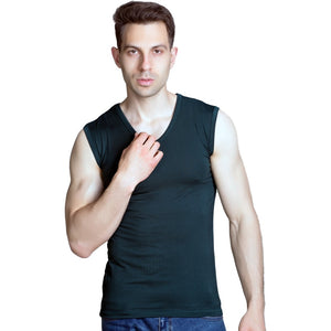 Sleeveless Thin Bamboo fiber T-shirts