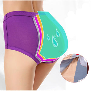 Bamboo Fibre Menstrual Period Leak Proof Panties