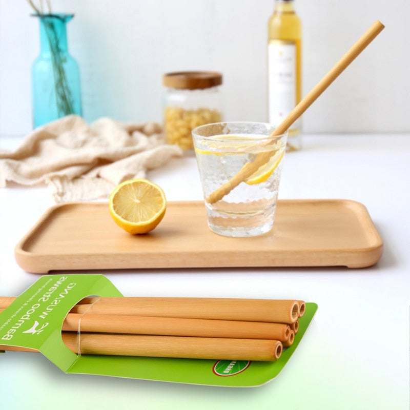 Natural Eco-friendly Bamboo Drinking Straw