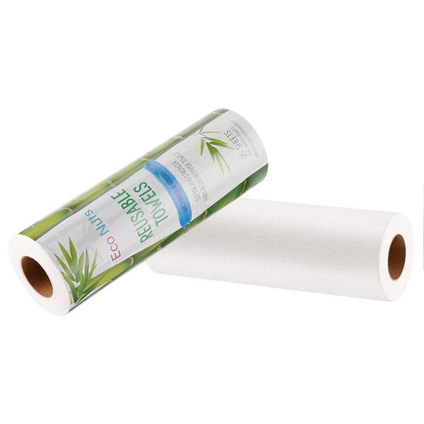 Eco-friendly Washable Re-usable Kitchen Bamboo Paper Towels