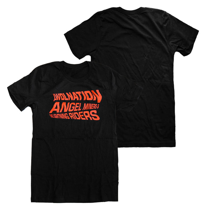 Lightning Riders Black Tee
