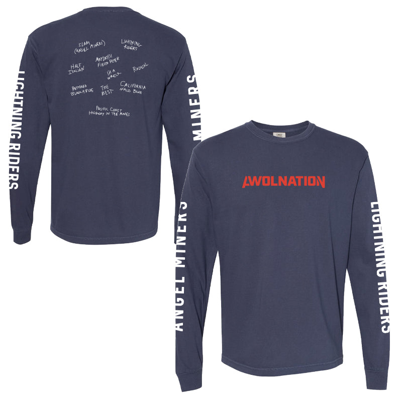 Angel Miners Long-Sleeve Tee