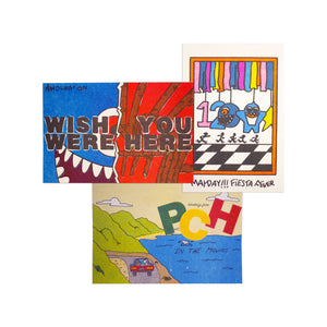 Thank You For Listening Postcard 3-Pack
