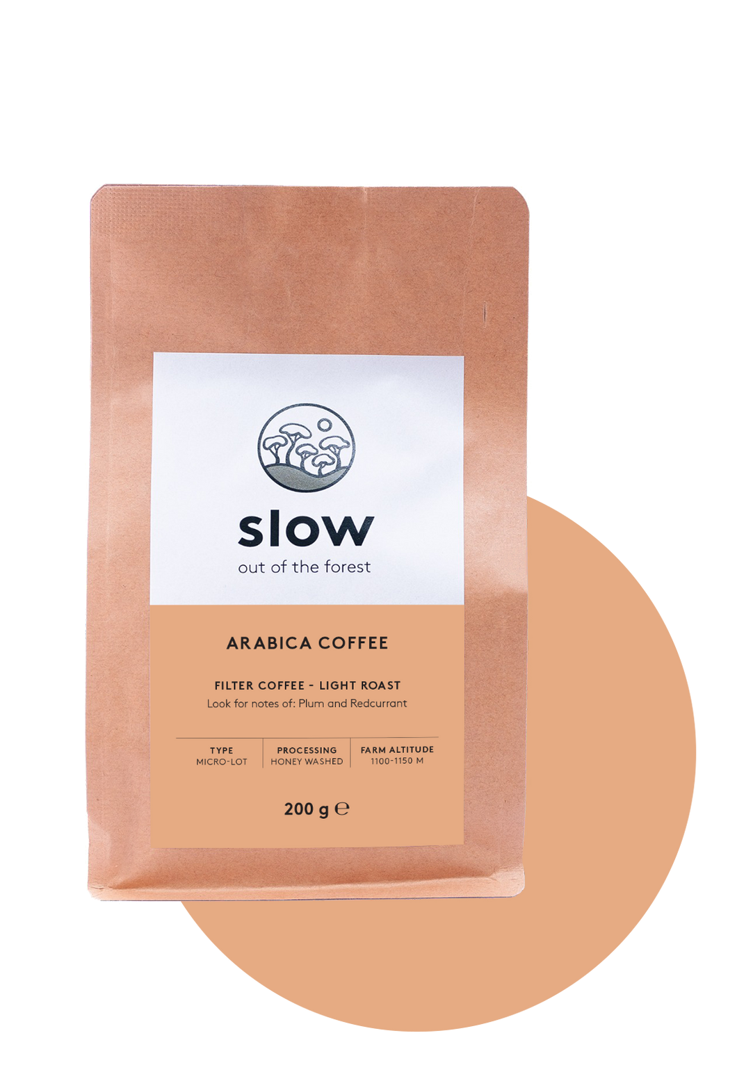Slow Light Roast (Whole Bean)
