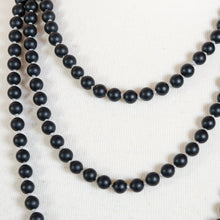 Load image into Gallery viewer, BLACK ONYX BEADS LONG
