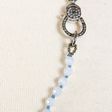 Load image into Gallery viewer, BLUE LACE AGATE BEADS