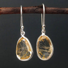 Load image into Gallery viewer, GOLDEN RUTILE EARRINGS