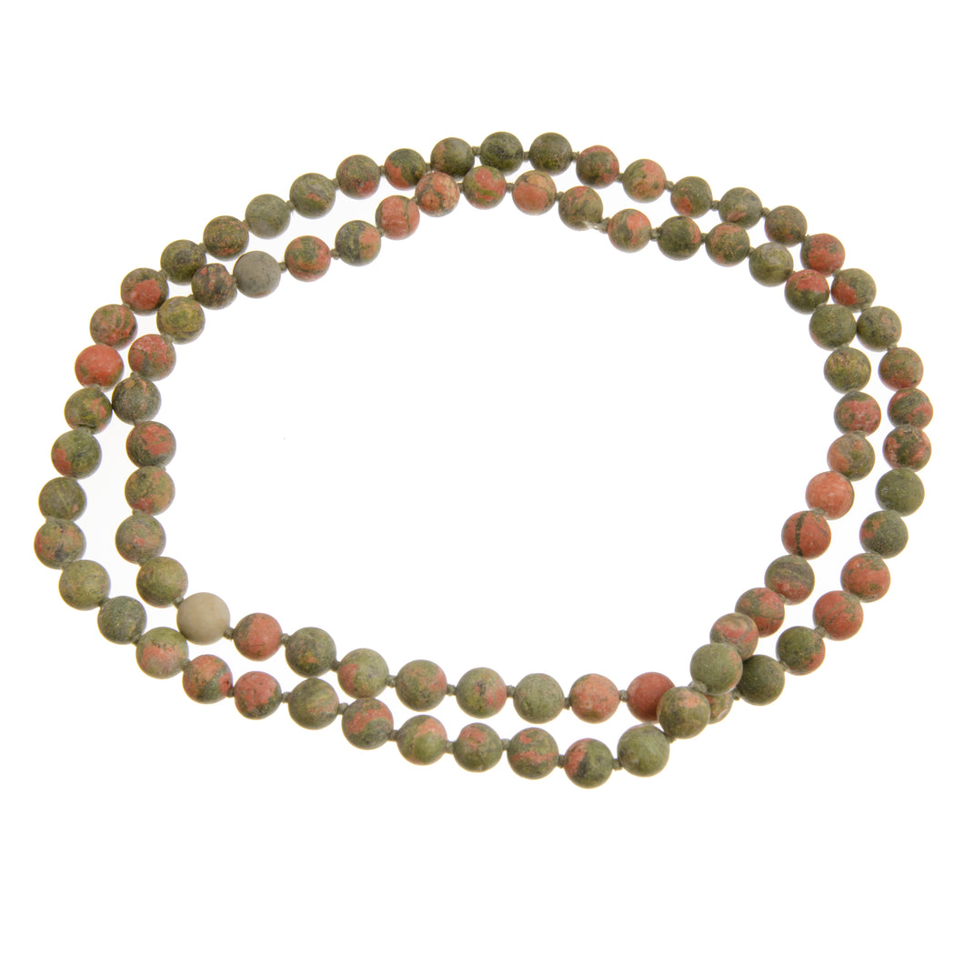 UNAKITE BEADS MEDIUM