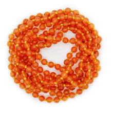 Load image into Gallery viewer, CARNELIAN BEADS LONG