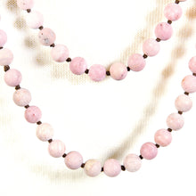 Load image into Gallery viewer, RHODONITE BEADS LONG