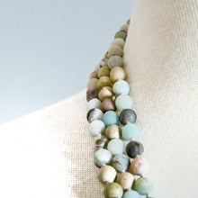 Load image into Gallery viewer, AMAZONITE BEADS LONG