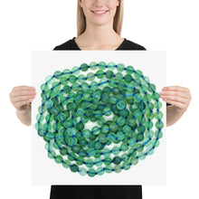 Load image into Gallery viewer, Green Fluorite Beads