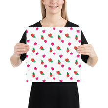 Load image into Gallery viewer, Little Pink Flowers Vector Drawing by Emily Rose