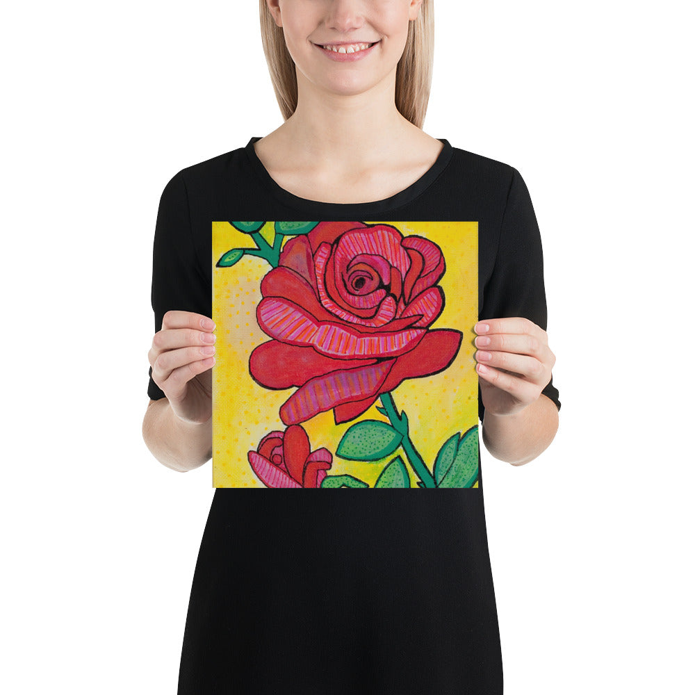 Rose Painting by Emily Rose