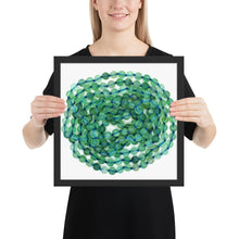 Load image into Gallery viewer, Fluorite Beads in Frame