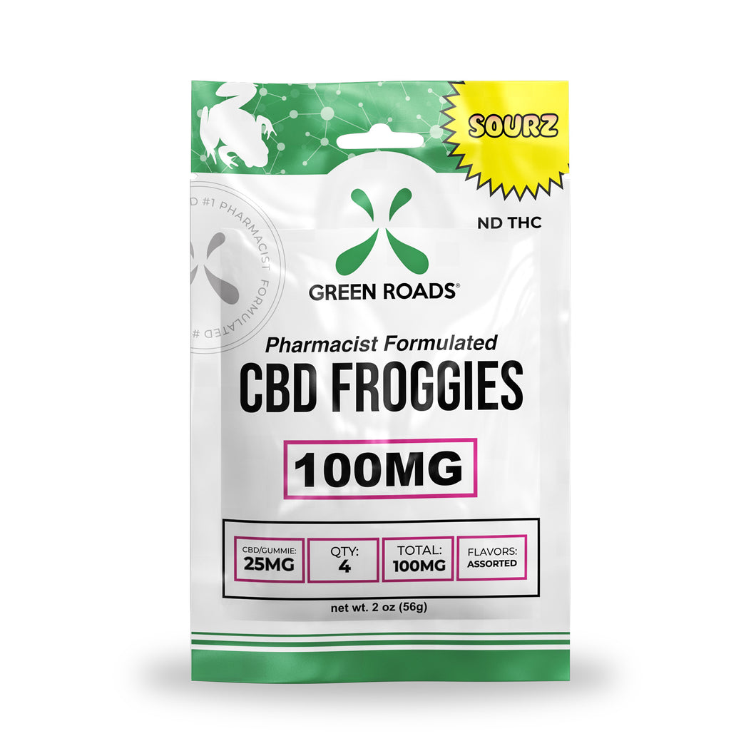 100mg Froggies Sourz