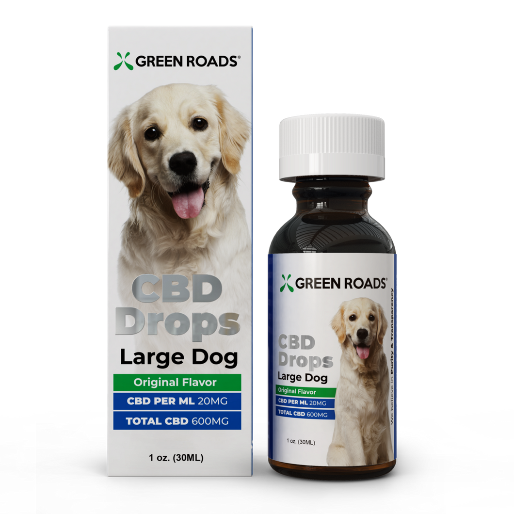 600mg Drops - Large Dog