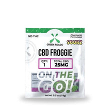 Load image into Gallery viewer, 25mg Froggies Sourz On-The-Go