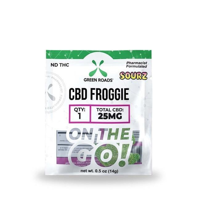 25mg Froggies Sourz On-The-Go