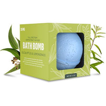 Load image into Gallery viewer, 35mg Bath Bomb - Eucalyptus Lemongrass