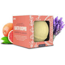 Load image into Gallery viewer, 35mg Bath Bomb - Grapefruit Lavender