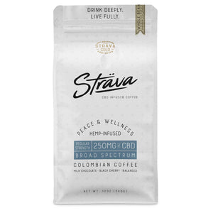 250mg Whole Bean Coffee 12oz - Regular Strength