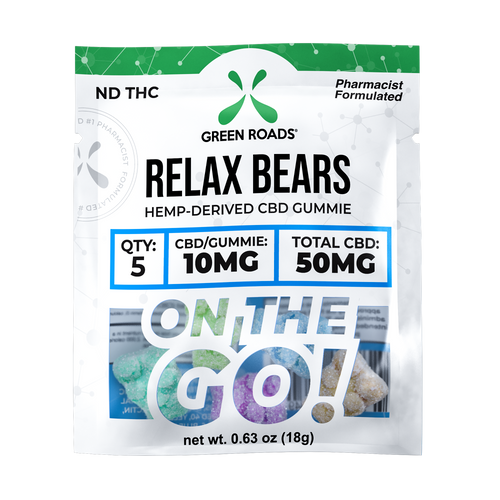 50mg Relax Bears On-The-Go