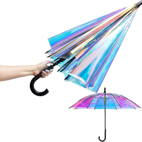 COLOUR-CHANGING UMBRELLA