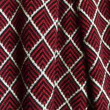 Load image into Gallery viewer, Royal Red Herringbone Girls Dress - OTedd